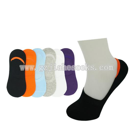 solid color women invisible socks