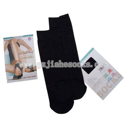 Black color sexy ankle socks