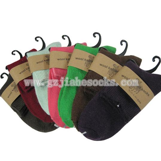 winter warm women wool socks