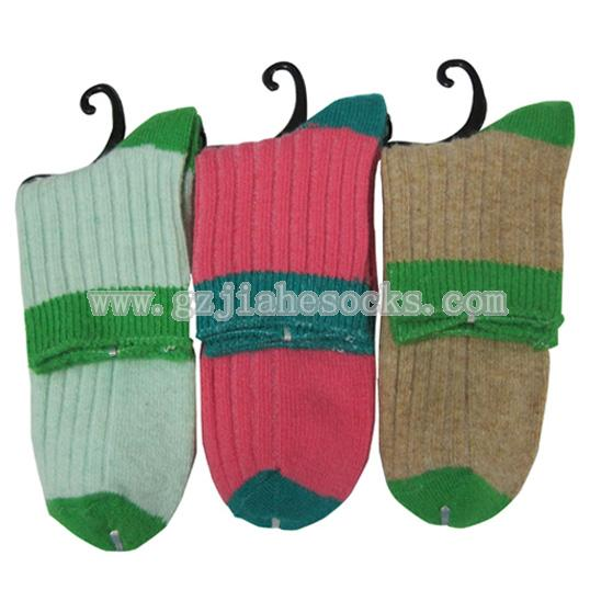 top quality ladies woolen socks
