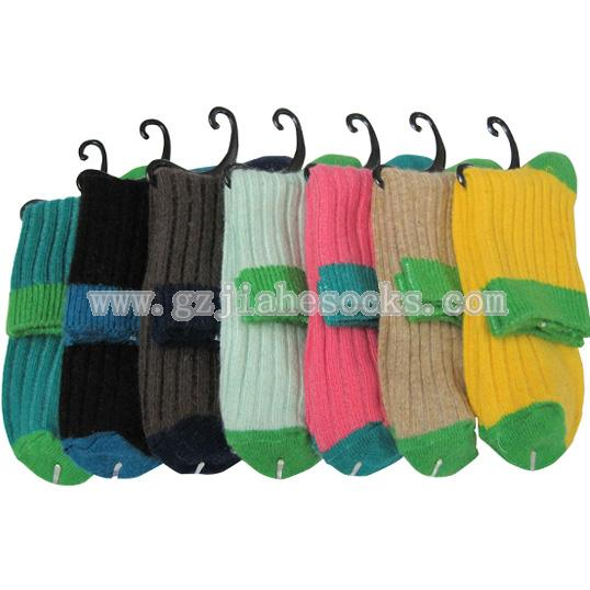 soft comfortable ladies wool socks