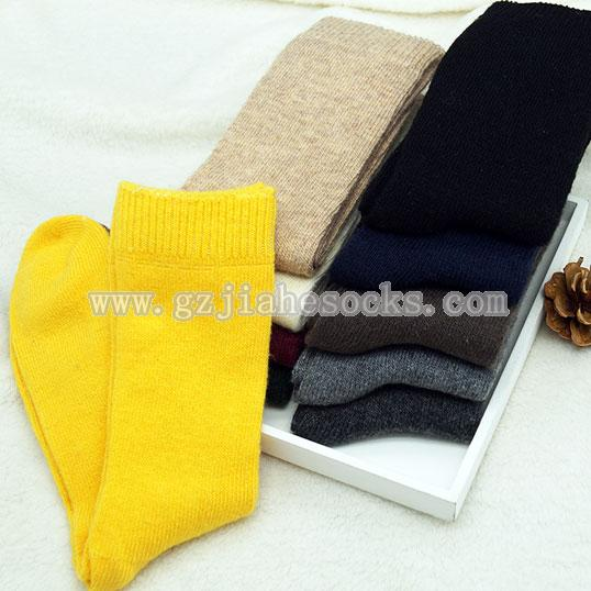 over knee women wool socks